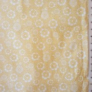 mistythreads_fabric_Harmony_white_flowers_yellow_background