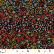 mistythreads-fabric-Wild-Seed-Waterhole-Black-by-Tanya-Price-Nangala